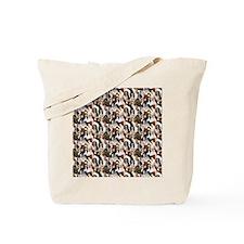 Cavalier Spaniel Mural Tote Bag