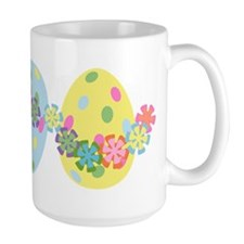 Easter Eggs 'N Garland Mug