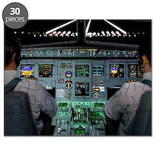 Flight simulator Puzzle