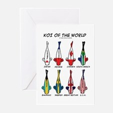 Koi of the World Greeting Cards (Pk of 10)