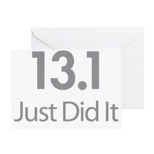 13.1 Just Did It Greeting Card