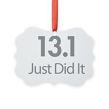 13.1 Just Did It Ornament