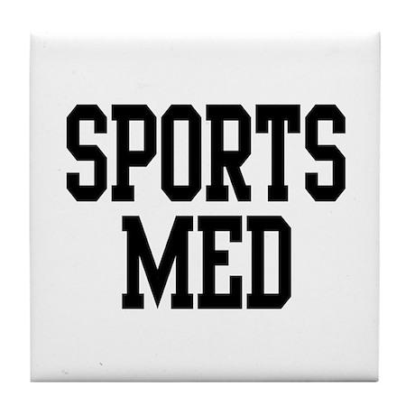Sports Med Tile Coaster