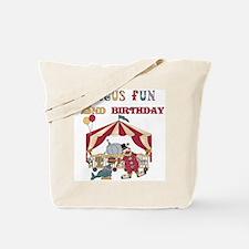 Circus Fun 2nd Birthday Tote Bag