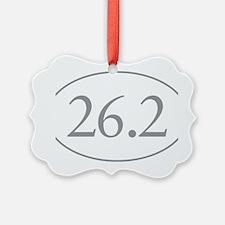26.2 Marathon Distance Ornament