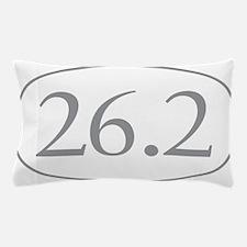 26.2 Marathon Distance Pillow Case