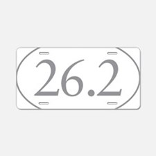 26.2 Marathon Distance Aluminum License Plate