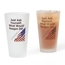 askyourself Drinking Glass