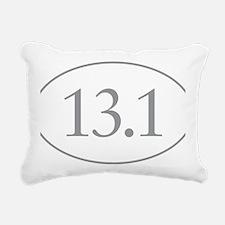 13.1 Miles Rectangular Canvas Pillow