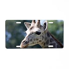 Giraffe Shoulder Bag Aluminum License Plate