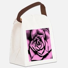 Dark rose Canvas Lunch Bag