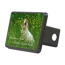 Clumber Spaniel Wall Calen Hitch Cover