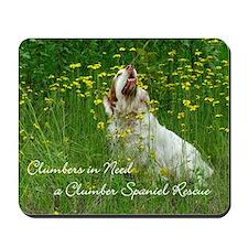 Clumber Spaniel Wall Calendar Mousepad