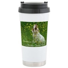 Clumber Spaniel Wall Ca Travel Mug