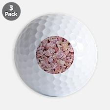 Fluorescent light bulb powder, SEM Golf Ball