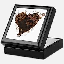 Steampunk Heart Keepsake Box