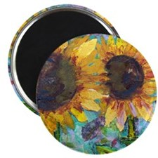 Sunflower Friends Magnet
