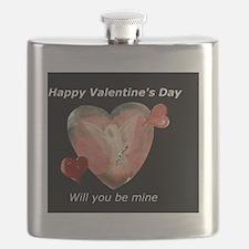 happy valentine day Flask