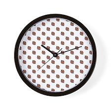 Polka-Nuts Wall Clock