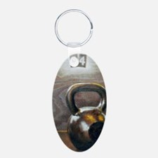 Kettlebell and Box Keychains