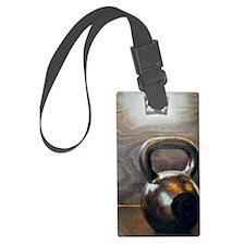 Kettlebell and Box Luggage Tag