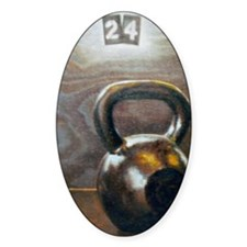 Kettlebell and Box Decal