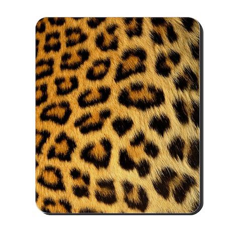 Amazing Leopard Print Mousepad