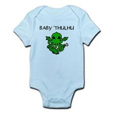 Baby 'thulhu, cute cthulhu Infant Bodysuit