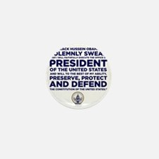 Presidential Oath Mini Button
