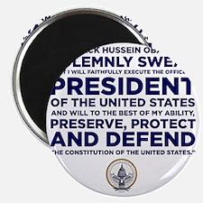 Presidential Oath Magnet