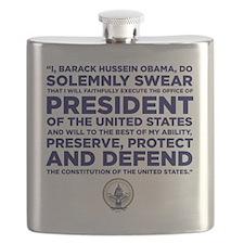 Presidential Oath Flask
