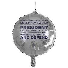 Presidential Oath Balloon