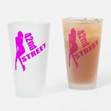 42nd Street Drinking Glass