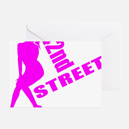 42nd Street Greeting Card