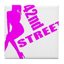 42nd Street Tile Coaster