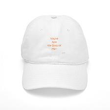 Not My Boss Baseball Cap