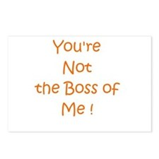 Not My Boss Postcards (Package of 8)