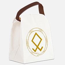 Ouroboros(plain) Canvas Lunch Bag