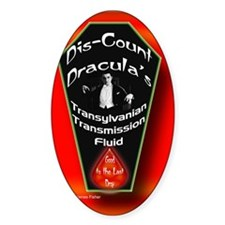 Dis-Count Draculas Fridge Toolbox M Decal