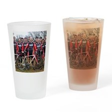 Bicycle Therapy Drinking Glass