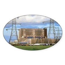 Hartlepool nuclear power station Decal