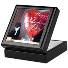Valentines kitty Keepsake Box