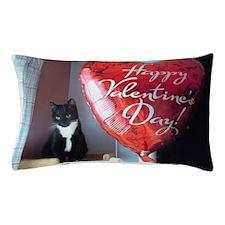 Valentines kitty Pillow Case