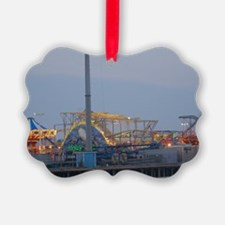 Seaside Heights at Night Ornament