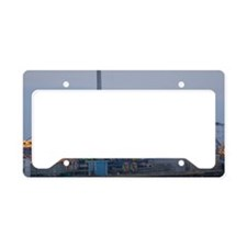 Seaside Heights at Night License Plate Holder