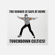 Touchdown Celtics Throw Blanket