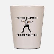 Touchdown Celtics Shot Glass