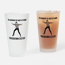 Touchdown Celtics Drinking Glass