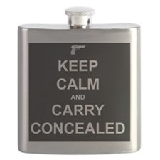 Keep Calm Carry Concealed Flask