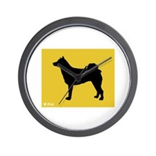 Norrbottenspets iPet Wall Clock